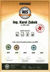 Certifikace AES